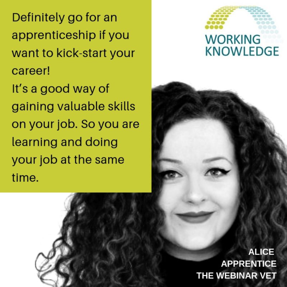 Alice - Digital Marketing Apprentice with Working Knowledge Group