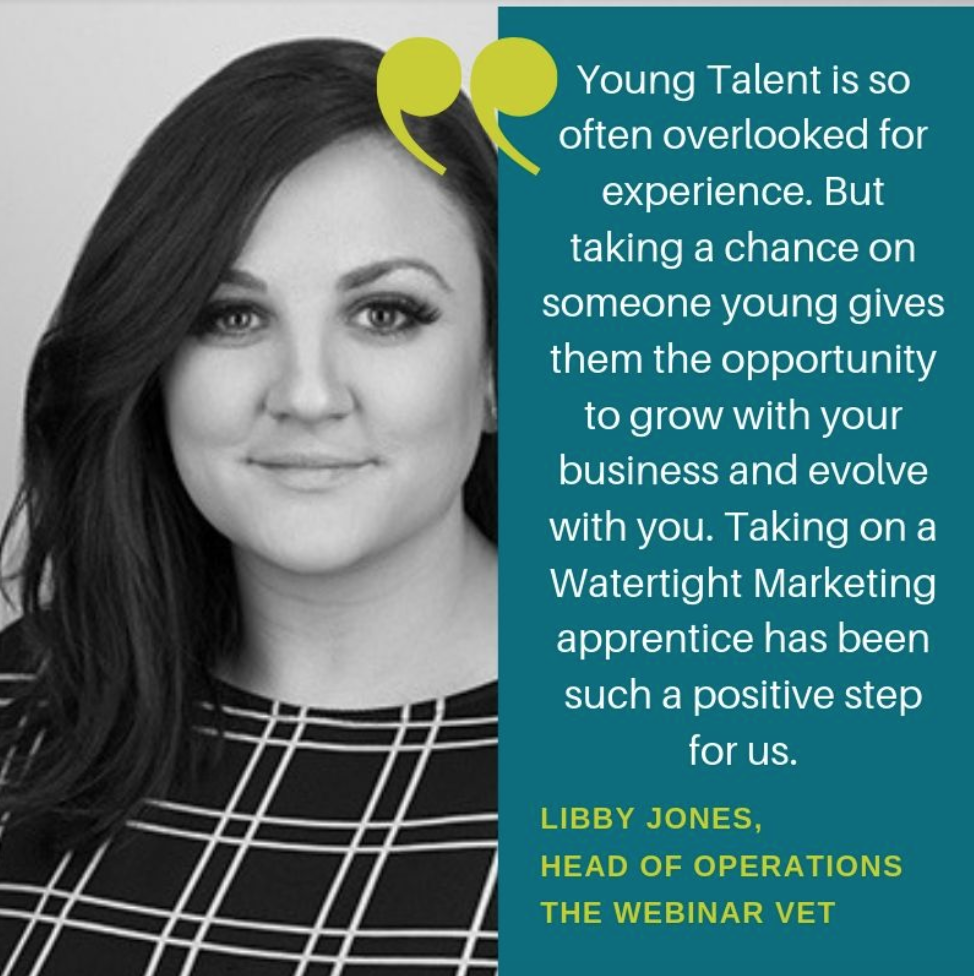 Libby - Digital Marketing Apprenticeships with Working Knowledge Group